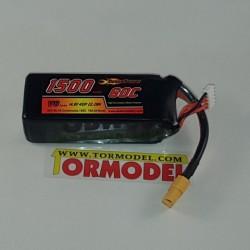 Bateria Lipo Desire Power 1500mAh 14.8v (4S) 60C