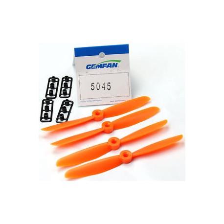 5x4.5 (2xNorm. + 2xRev.) Naranjas