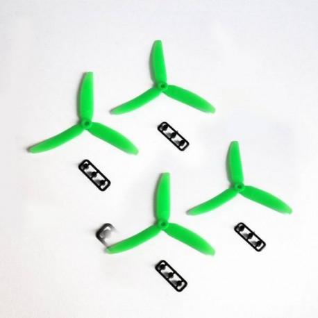 5x4.5 Tripala (2xNorm. + 2xRev.) Verdes