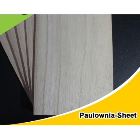 Plancha Paulownia 3x100x1000mm.