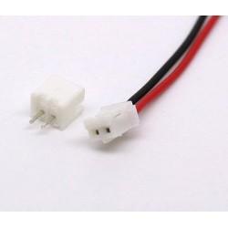 Conector JST Ph 2.0 de 2 pins Macho/Hembra