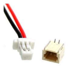Conector JST SH 1.0 de 2 pins Macho/Hembra