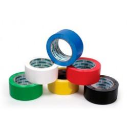 Cinta PVC adhesiva Amarilla 50mm