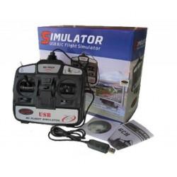 Mando simulador USB 6CH - Modo 2