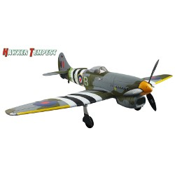 Hawker Tempest con tren retráctil Brushless - PnP