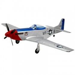Dynam P-51 Mustang V2 fred Glover con tren retractil - PNP