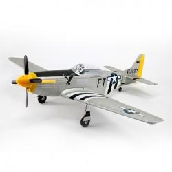 Dynam P-51D Mustang con tren retractil - PNP