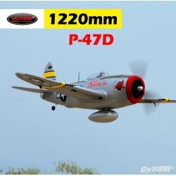 Dynam P-47D Thunderbolt V2 1220mm con tren retractil - PNP