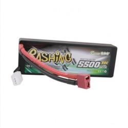 Bateria LiPo Gens Ace Bashing 7.4v 50C 5500mAh - Caja Rígida