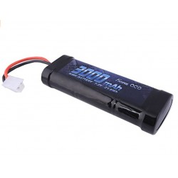 Batería NIMH 7.2V 3000mAh con conector Tamiya