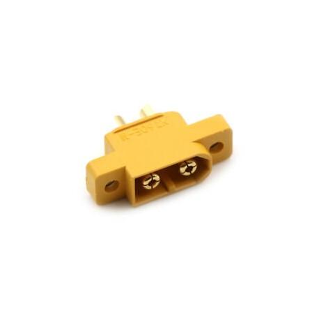 Conector XT60E-M montable fijo