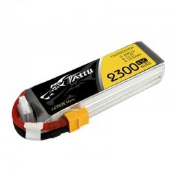 Bateria Lipo TATTU 2300mAh 11.1V 45C 3S1P con XT60