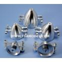 Cono aluminio para helices plegables 38mm Eje 2.3mm
