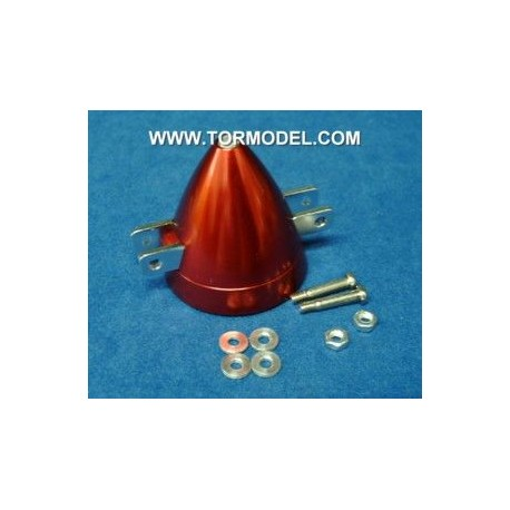 Cono aluminio para helices plegables 45mm Eje 3mm