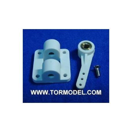 Brazo de direccion y soporte 29x26x13.5mm
