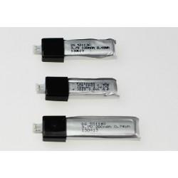 Bateria 3,7V 200mAh