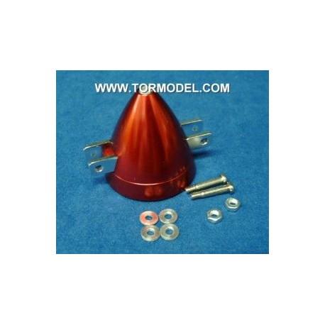 Cono aluminio para helices plegables 30mm Eje 2mm