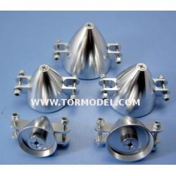 Cono aluminio para helices plegables 28mm Eje 3.17mm