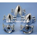 Cono aluminio para helices plegables 35mm Eje 3.2mm