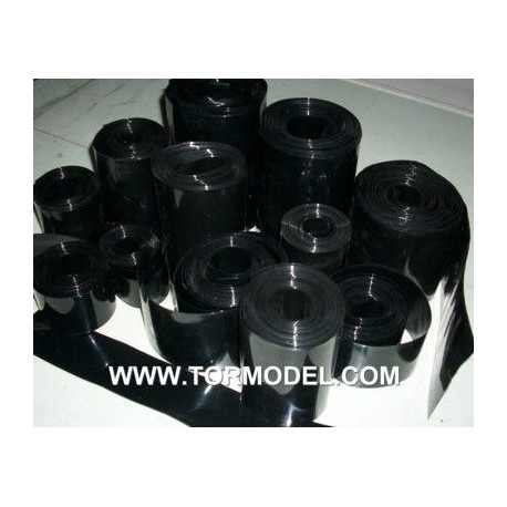 PVC termo-retractil bateria 110 mm negro